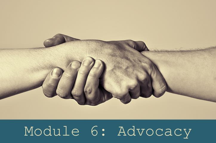 Module 6: Advocacy