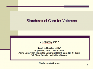 Standards of Care for Veterans