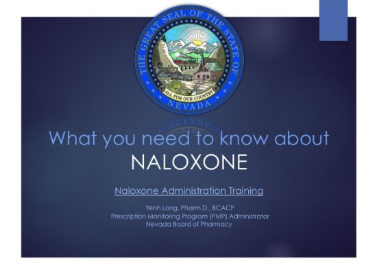 What you need to know about Naloxone