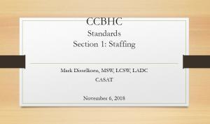 CCBHC Standards Slide 1