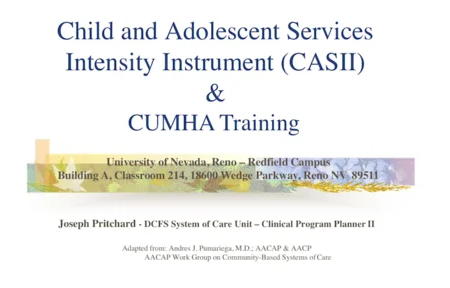 CASII & CUMHA Training